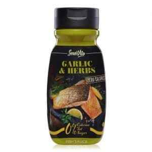 Salsa Garlic & Herbs 0%
